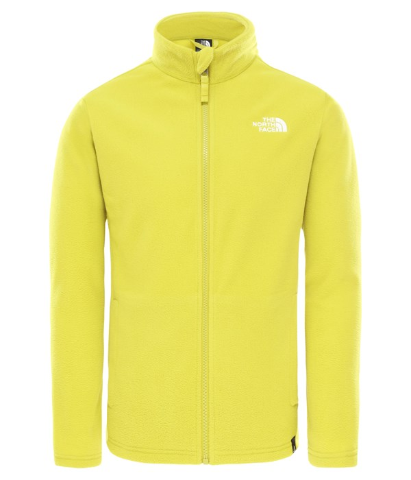 The North Face Snow Quest Fullzip Çocuk Sweatshirt Yeşil