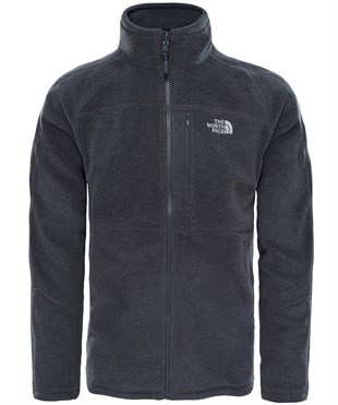 The North Face 200 Shadow Full Zip Fleece Erkek Polar Gri