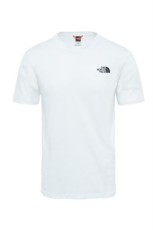 The North Face Red Box Tee Erkek T-Shirt Beyaz