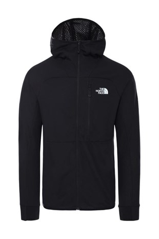 The North Face Summit L2 Fleece Kapüşonlu Erkek Sweatshirt Siyah