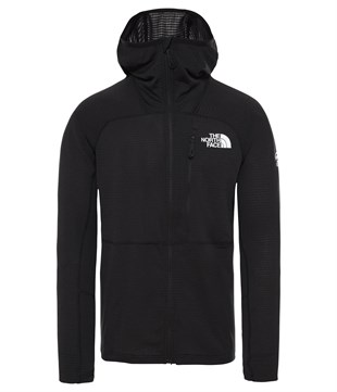 The North Face Summit L2 Power Grid LT Erkek Sweatshirt Siyah